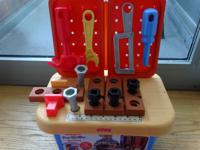 This is a great tool toy set. My daughter loved playing