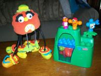 ~ FISHER PRICE - POP ONZ BUILDING SYSTEM ~ JUNGLE BLOCK