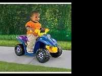 Fisher-Price 77760 Power Wheels Lil Quad Item is Used.