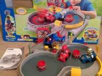 For sale Fisher Price Race Track $10 excellent