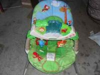 Fisher Price - Rainforest Bouncer IN EXCELENT N CLEAN