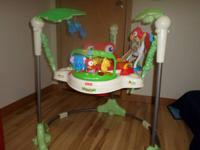 Rainforest Jumperoo for sale $25.00.  Email if