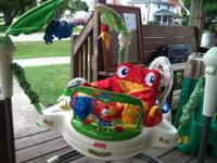 selling a Fisher-Price Rainforest Jumperoo. I'm