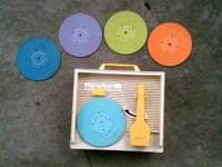 1971 FISHER PRICE record player-music box with 5