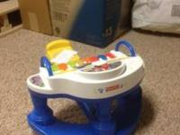 This is a fisher price toddler piano. My kids loved