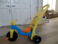 Exceptional condition - used indoors.  The Fisher-Price