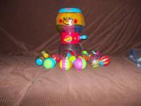 Fisher Price Gum Ball Machine and 15 roll around