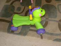 Fisher Price's Musical 2-in-1 walker and ride on