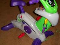 Fisher-Price Smart Cycle-Like New (also comes with