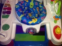 Fisher price activity center with working lights and