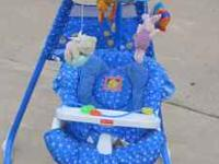 THIS IS A NICE FISHER PRICE SWING, SWINGS TWO DIFFERENT