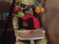 For sale. Fisher Price swing n cradle. Excellent