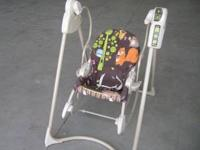 Fisher Price 2-in-1 Swing 'N Rocker. Excellent