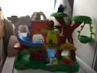 I have a fisher price talking zoo with 3 animals and 1