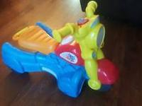 Im selling my son's Fisher price toys. One is a lion