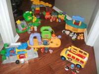 I HAVE A LOT OF LITTLE PEOPLE SETS FOR SALE ALL NICE