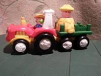 fisher price farm tractor $8 fisher  price skid loader