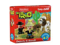 Fisher-Price TRIO Deputy & Bandit A perfect addition to
