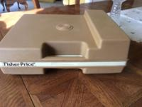 Fisher Price vintage 1978 record player. Plays lp 33