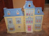 Retired Fisher Price Vintage Victorian Dollhouse is