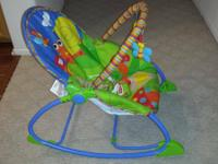 The Infant to Toddler Rocker is a great grow-with-baby