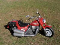 Here is a Rare Battery Operated HARLEY DAVIDSON