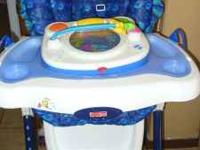 Hi, I'm selling a Blue High Chair in very good