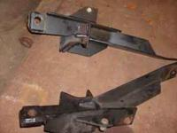 I have a set of fisher plow push plates. The part