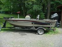 2000 14 ft. Fisher Avenger with 40hp Mercury Force