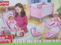 New in box Deluxe Travel play set. All toys in the