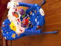 Fisher Price Bouncy Seat $15 Options for vibration and