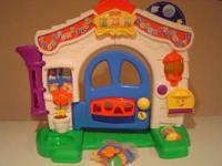I have a Fisher Price Laugh & Learn Learning Home for