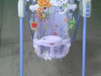 We have a Fisher Price Swing for sale. Battery
