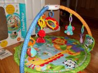 Fisher Price Rain Forest Friend Musical Gym. Perfect