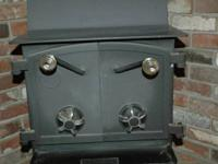 Sweet Fisher Honey Bear free standing stove. Great