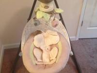 Like brand new Fisherprice electic swing. Features: