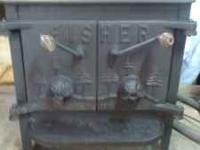 I have a fishers wood stove. in good shape. it is 25