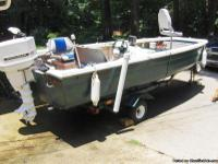 FISHING BOAT / TRAILER +MORE.THIS BOAT IS READY TO GO
