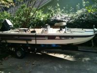 This boat is a mfg super bass w trailer motor needs
