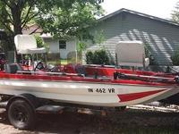 I have a nice 15-1/2' boat with an 85hp Mercury motor.