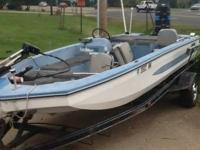 This is a mid 1980's bass and ski boat. Last season the
