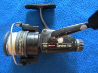 Abu Garcia Cardinal 753 spinning frame. Works terrific,