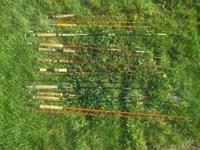 Have some vintage fly rods and a few spinning rods .All