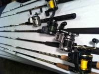 I have an extensive fishing gear collection for sale