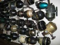 Fishing Items: Forty assorted reels. (36 closed face &
