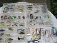 i have 40 + fishing lures for $2 each if interested