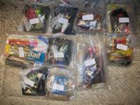 I have for sale an assortment of fishing lures and bait