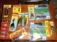 Musky and large bass Lures Mini Buchertails, Gapen's