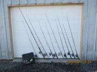 I have for sale or trade 11 complete fishing