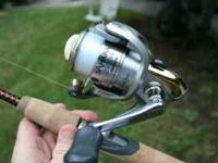 Shimano Reel (2500FB) and Shakespeer Ugly Stick Lite -